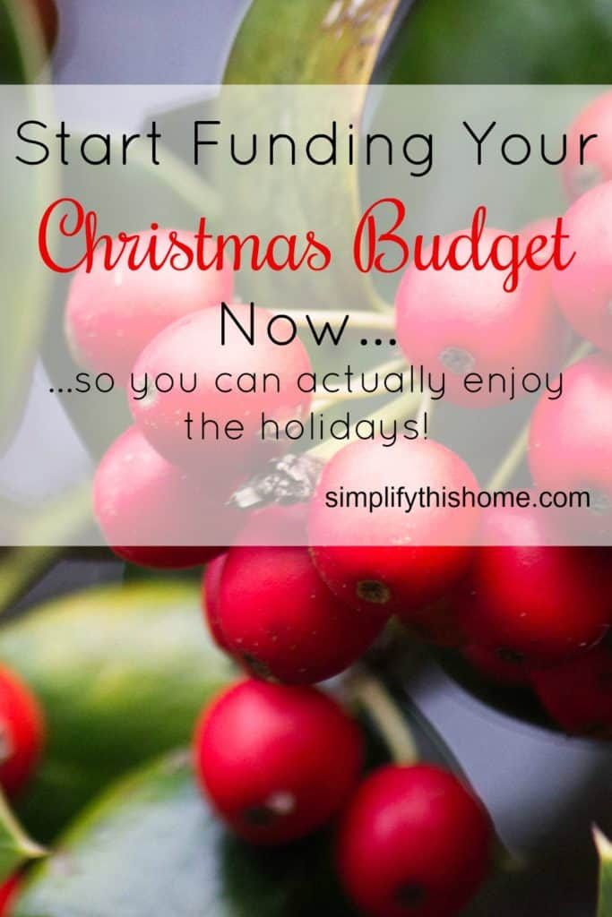 Fall is coming soon, so it's time to start funding your Christmas ...