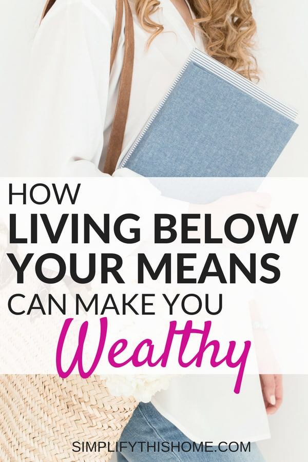 How living below your means can make you wealthy! | personal finance tips #personalfinance #savemoney