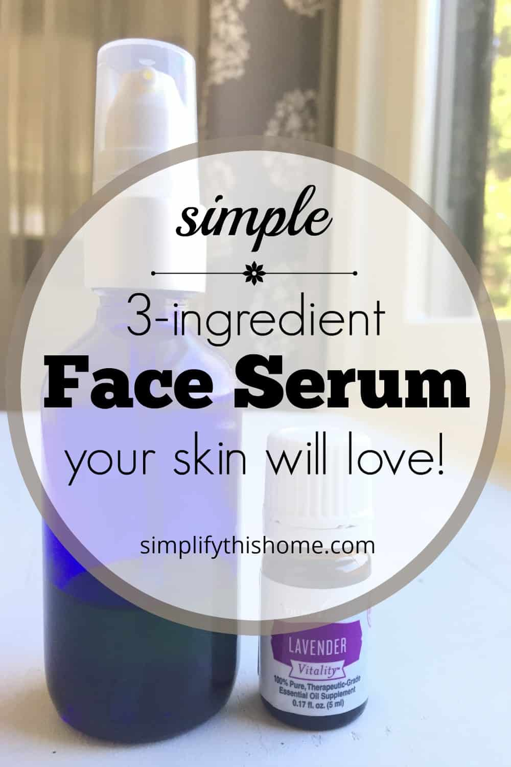 Try this simple 3-ingredient face serum your skin will love! And the best part is that it works beautifully on all skin types! | face oil | best DIY face oil | essential oils