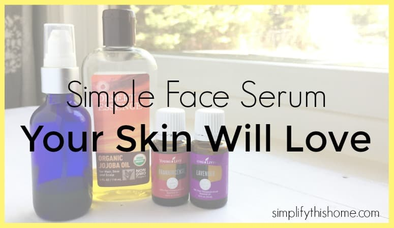 Simple 3-Ingredient Face Oil Recipe