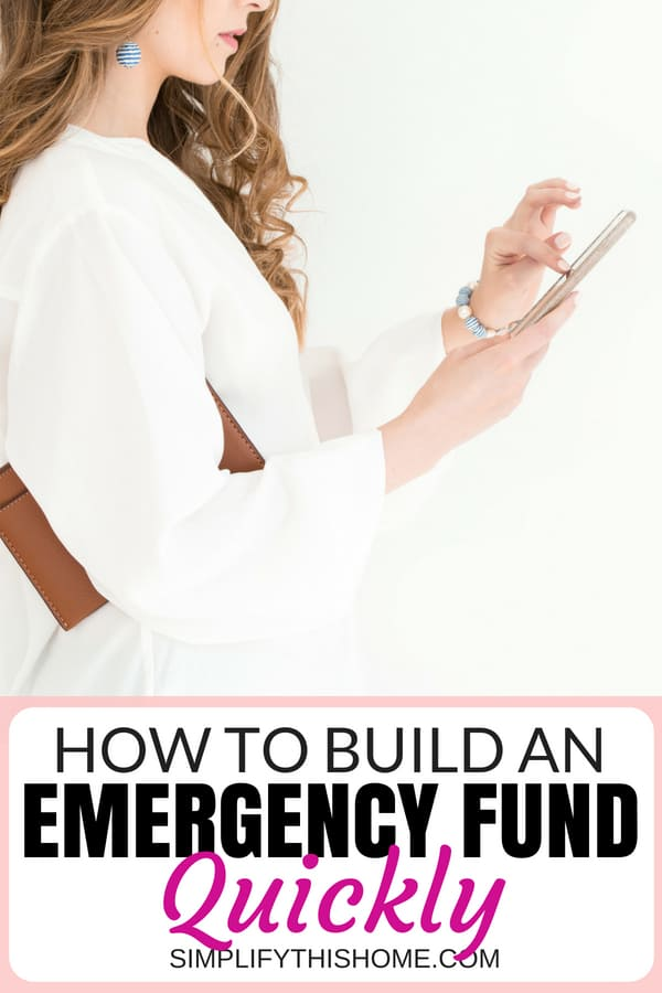 How to build an emergency fund quickly and painlessly! | money saving tips