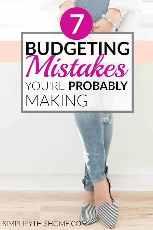 Are you making these budgeting mistakes? | budgeting for beginners #budget #budgeting #personalfinance