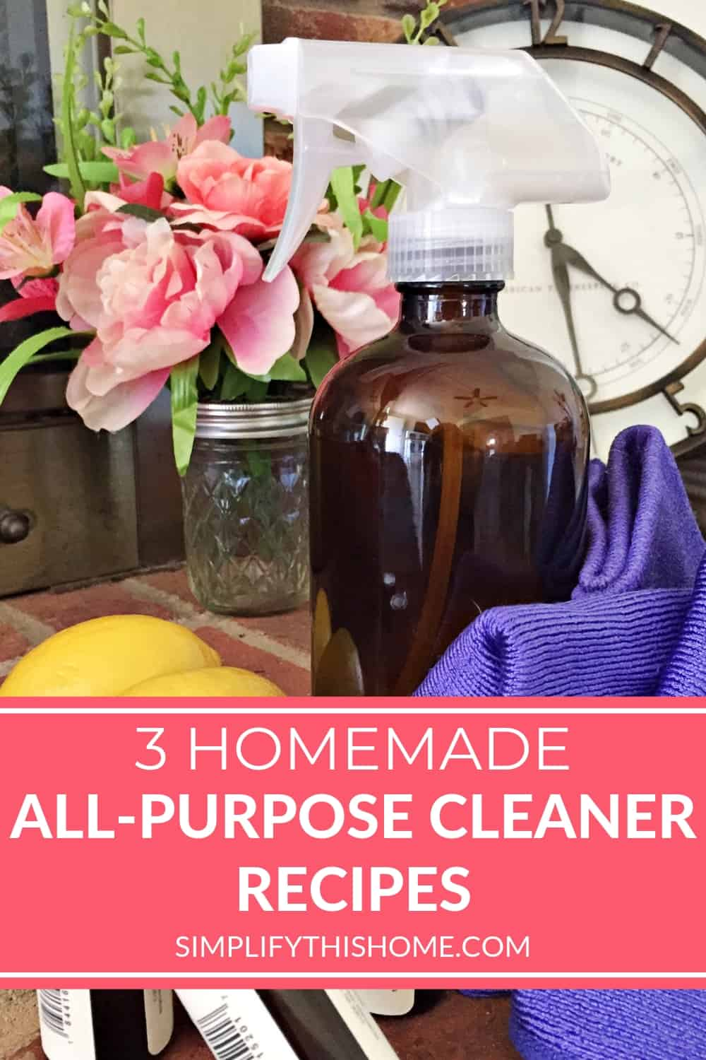 3 homemade all-purpose cleaner recipes