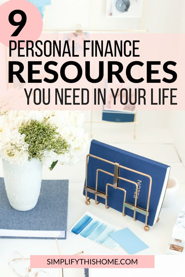 These are the best personal finance resources to help you reach your financial goals! | personal finance books and blogs