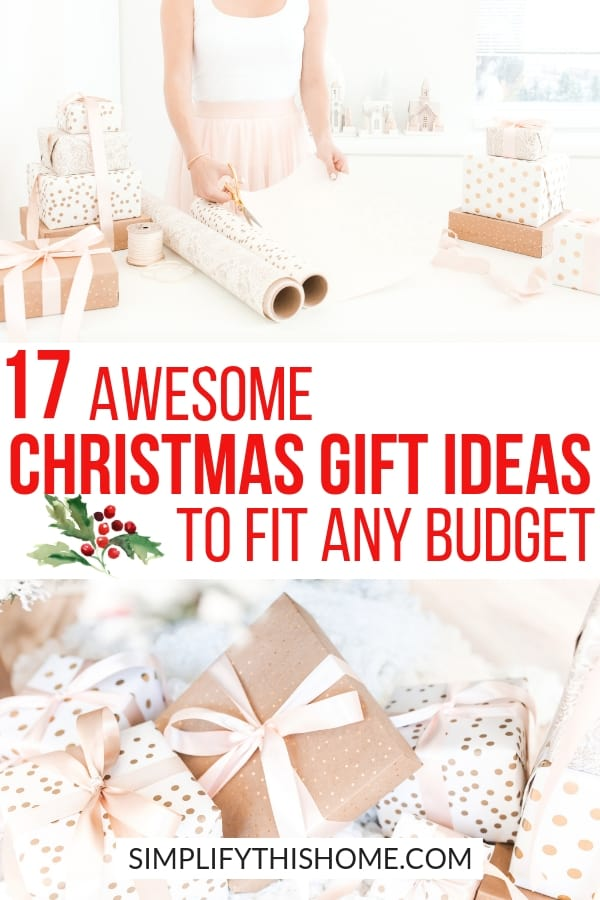 These Christmas gift ideas are all under $25 so you can give awesome gifts without killing your Christmas budget! | Christmas gift guide | Christmas gifts on a budget