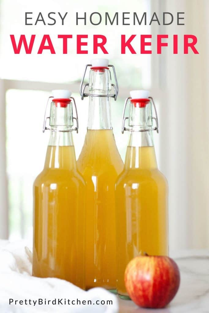 Easy homemade water kefir