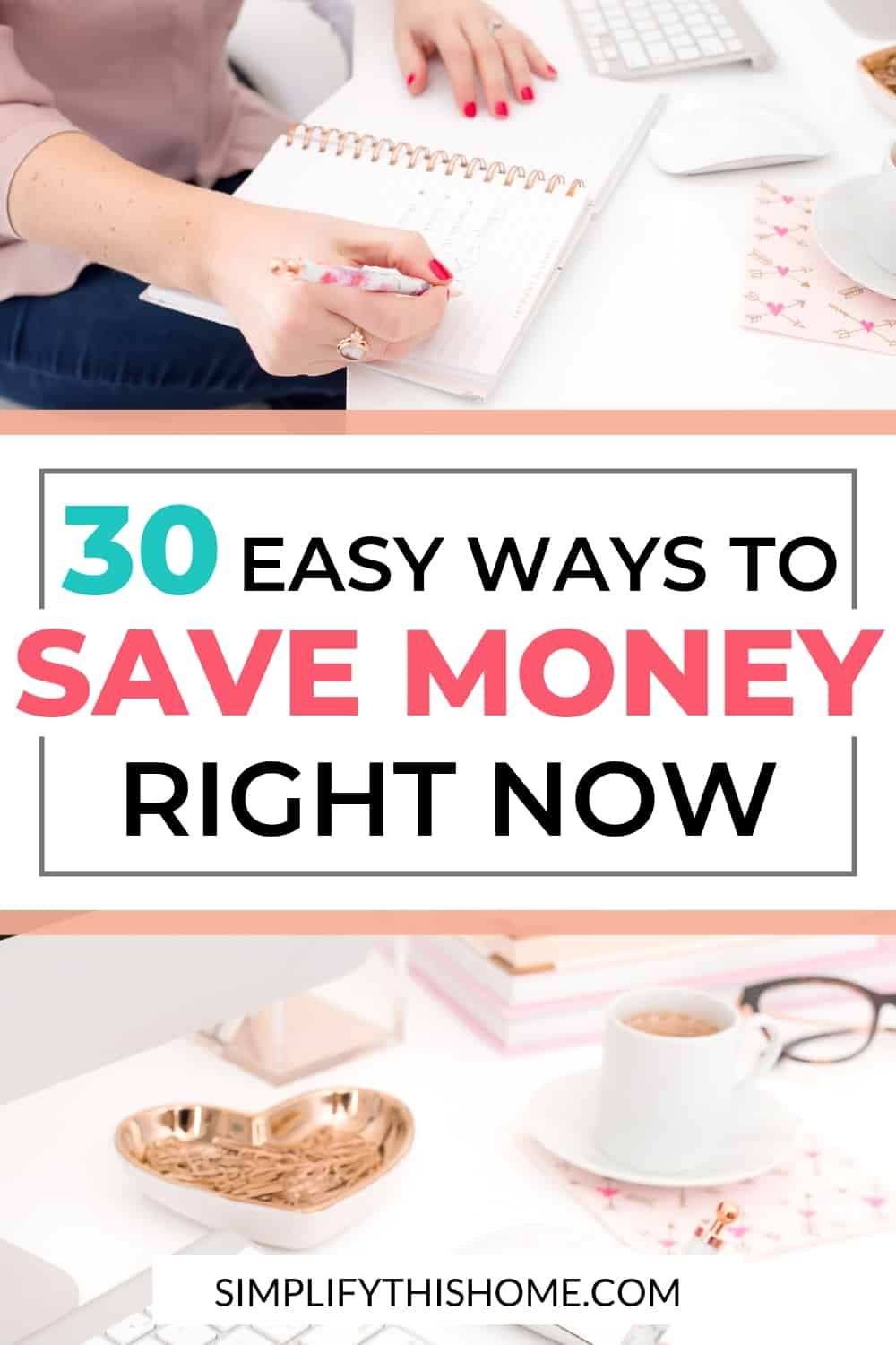 Easy ways to save money right now