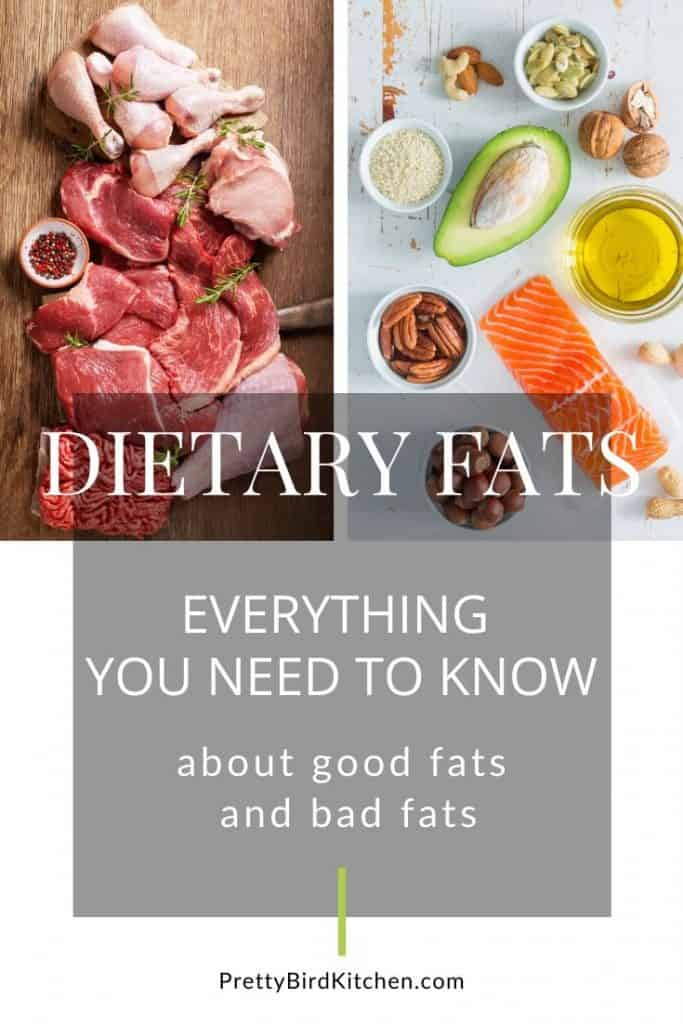 Everything you need to know about dietary fats