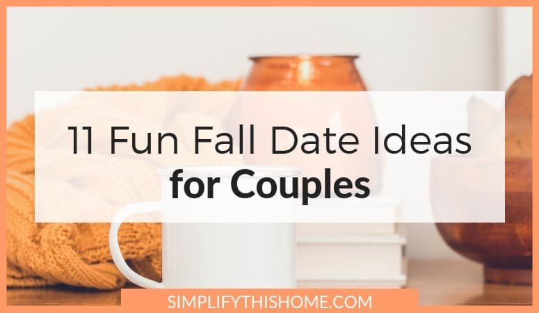 These fall date ideas are so romantic! And the best part is the free printable checklist! | fall activities for couples | fall bucket list for couples