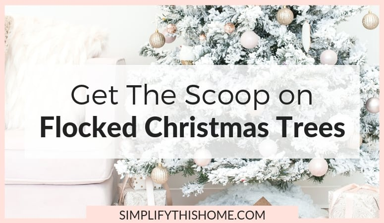 Read This Before You Buy a Flocked Christmas Tree