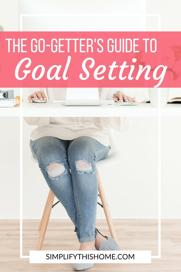 How to achieve your big dreams with intentional goal setting! | goal setting printable worksheet