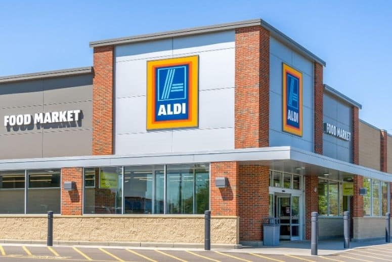 Grocery shop at Aldi to save money