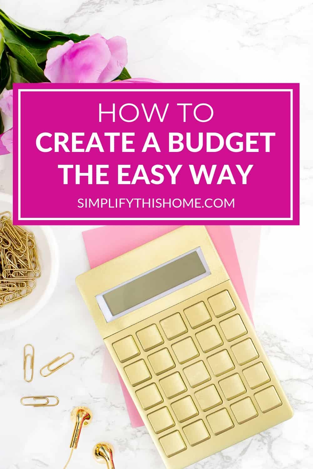 Creating a budget that works really isn't that hard. Here's how to create a zero-based budget the easy way! | how to create a budget | budgeting tips