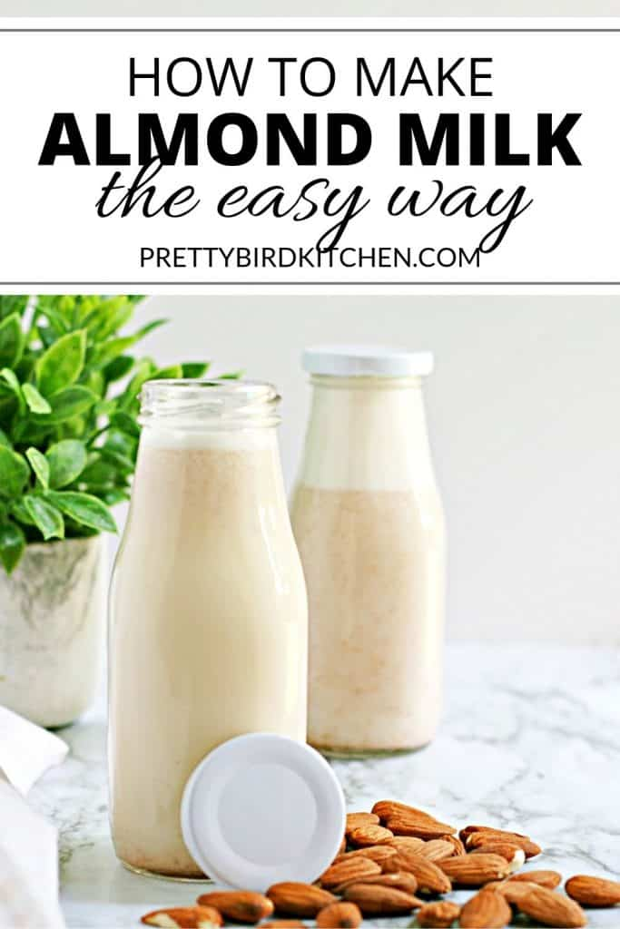 How to make almond milk the easy way