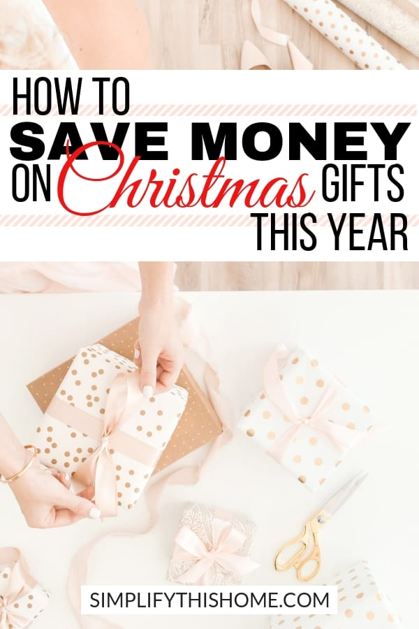 Wondering how to give awesome Christmas gifts on a budget? These Christmas shopping tips will help you save money on Christmas gifts this year so you can enjoy the holiday season without worrying about money! | Christmas shopping on a budget | Christmas presents on a budget