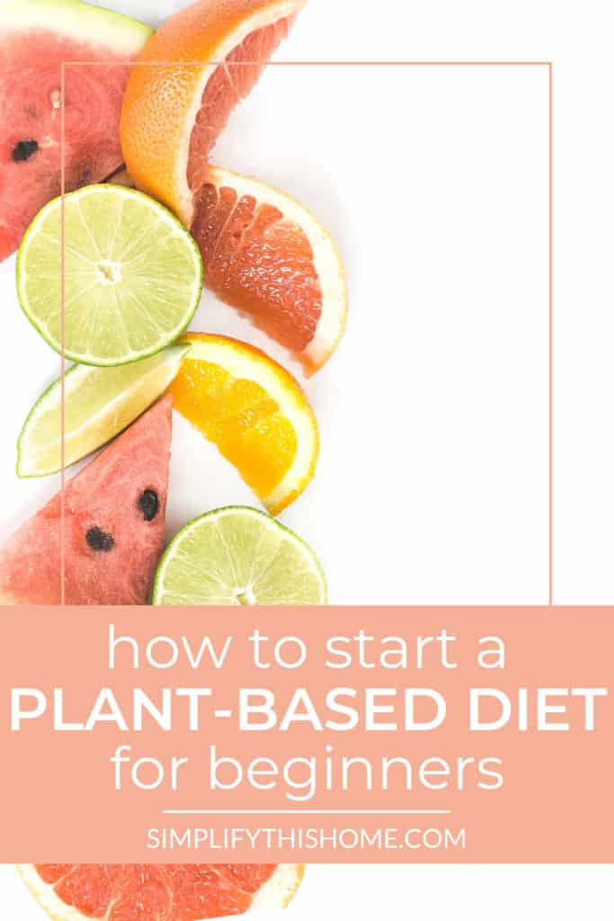 How to start a plant-based diet for beginners the easy way