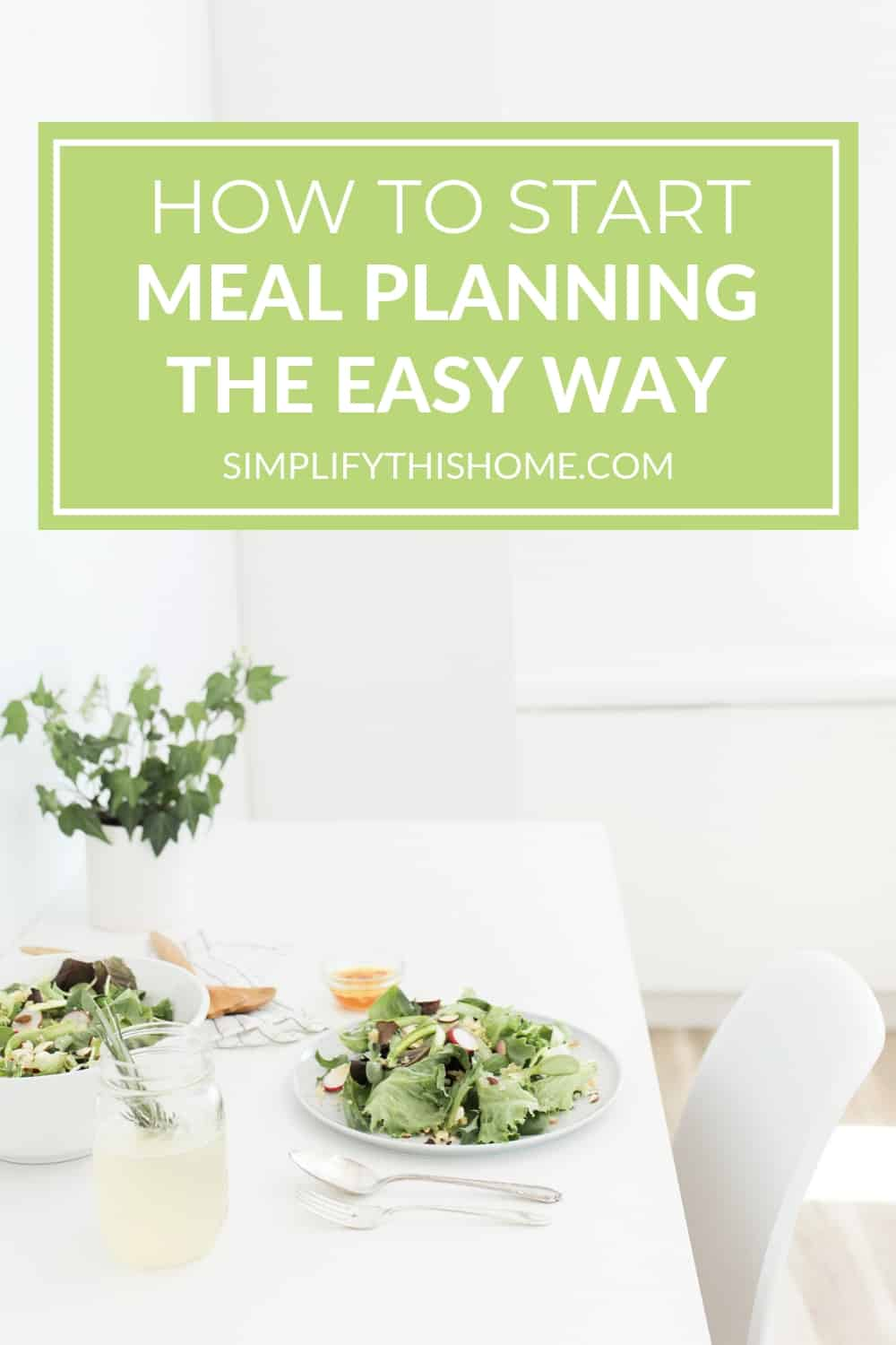 These tips will help you start meal planning without feeling overwhelmed! You can also download my free printable meal planning sheet! | meal planning printable