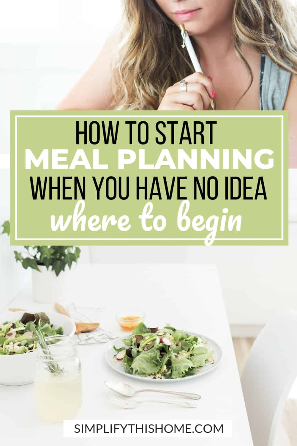 Here's how to start meal planning when you have no idea where to begin! You can also download my free printable meal planning sheet! | meal planning printable