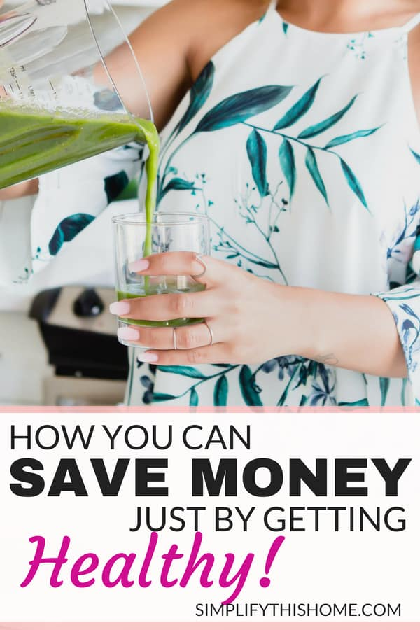 It's true! You can save money by being healthy! | how to save money | money saving tips
