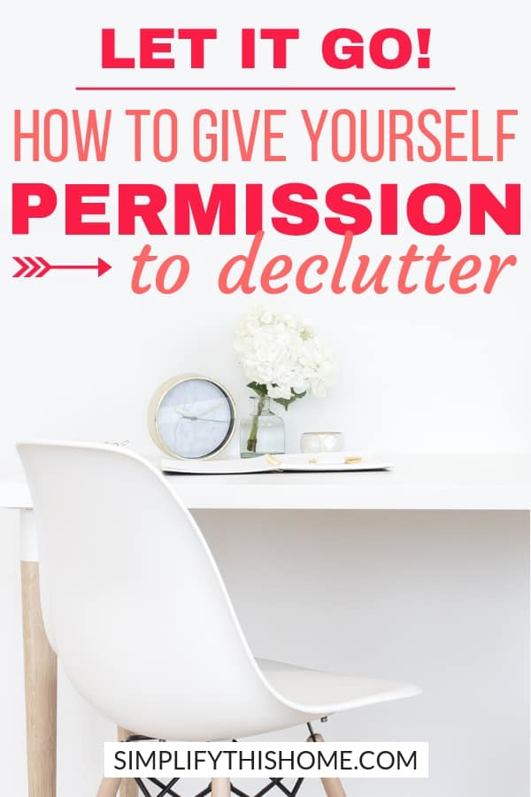 Wondering how to let go of stuff when you feel guilty? These truths will finally give you permission to declutter so you can get rid of stuff guilt-free! | how to declutter | decluttering tips