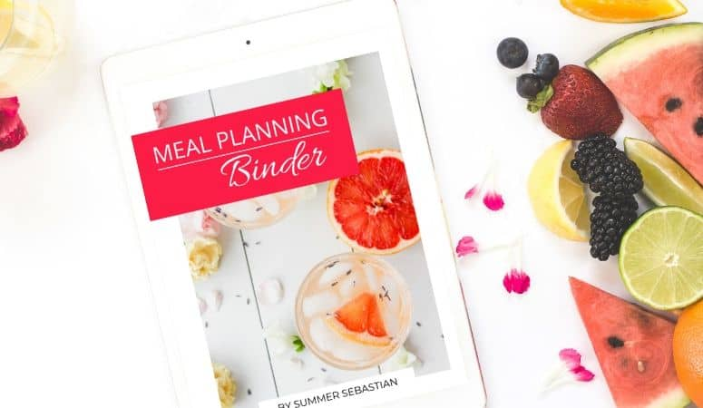 The Meal Planning Binder You Need to Make Meal Planning a Breeze