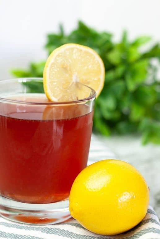 Nettle tea for seasonal allergies