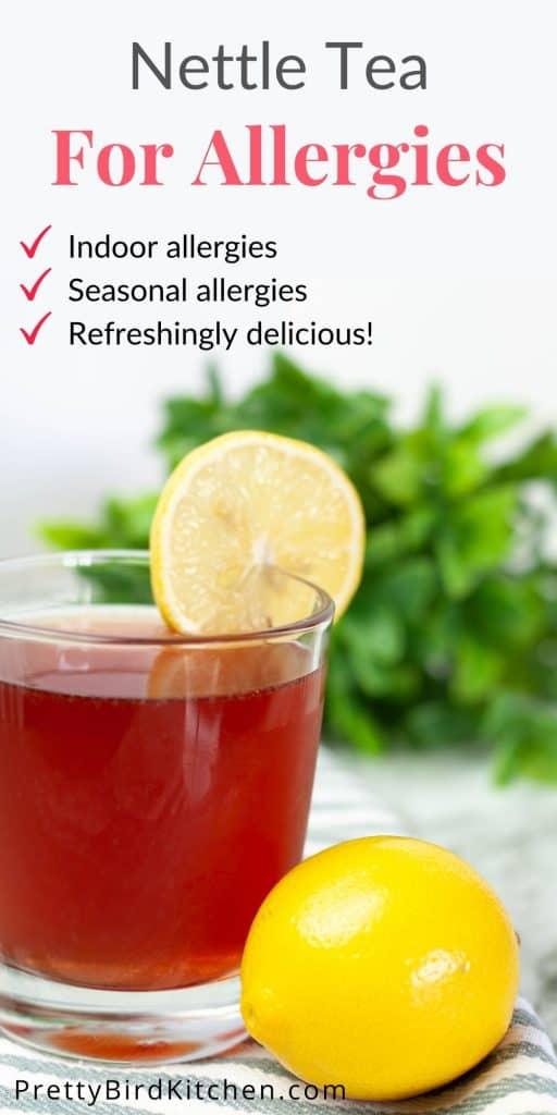 Nettle tea for allergies - seasonal and indoor allergy relief