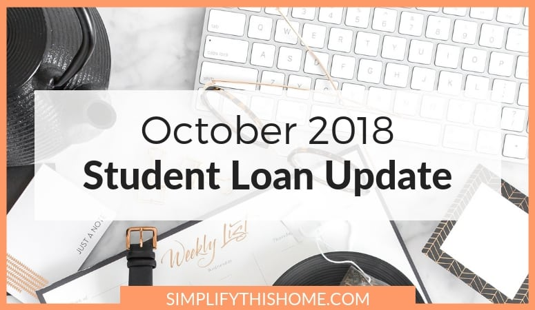 Student Loan Update: October 2018