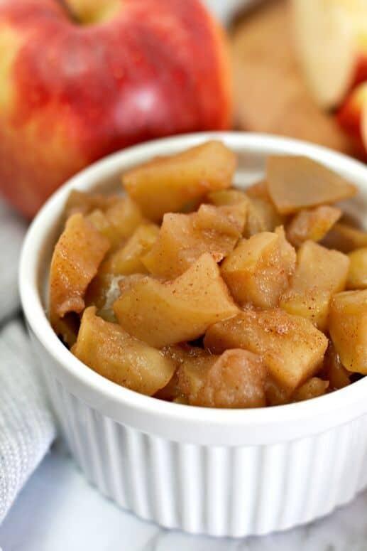 Plant-based cinnamon apple recipe