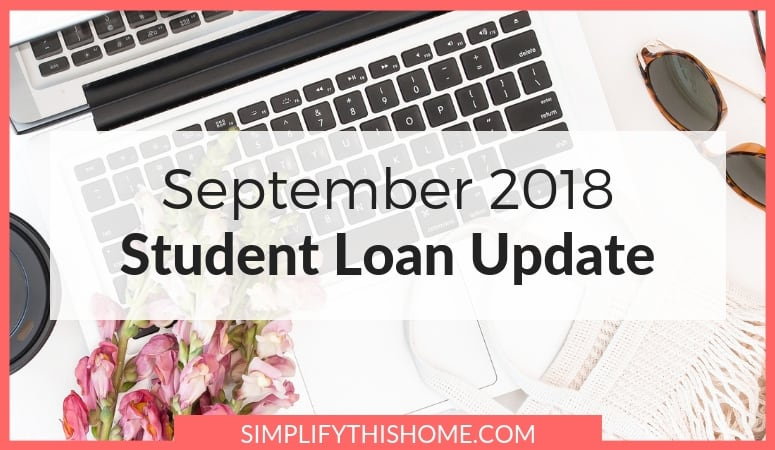 Student Loan Update: September 2018