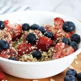 Sweet Berry Oatmeal