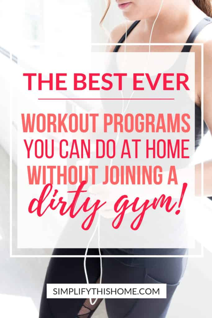 The best ever workout programs you can do at home! I'll definitely have to try these at-home workout programs so I can get in shape once and for all! | exercise at home