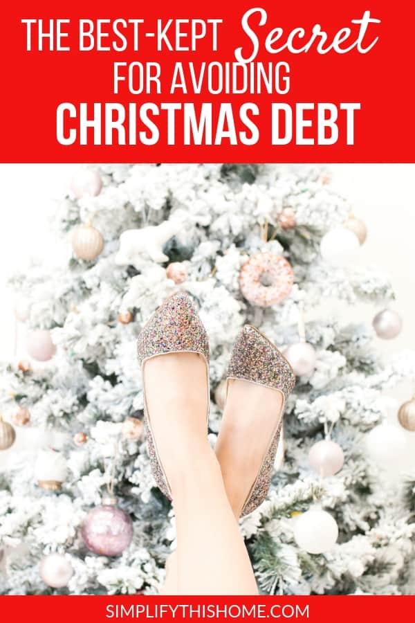 If you want to avoid Christmas debt this year, then you need this tip! Learn how to start saving for Christmas now so you can have a fully-funded Christmas fund when it's time to start shopping.