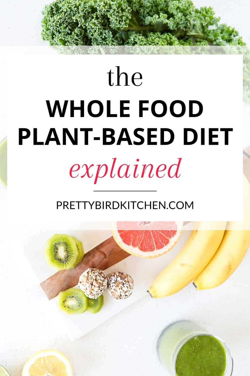 The whole food plant based diet explained 1