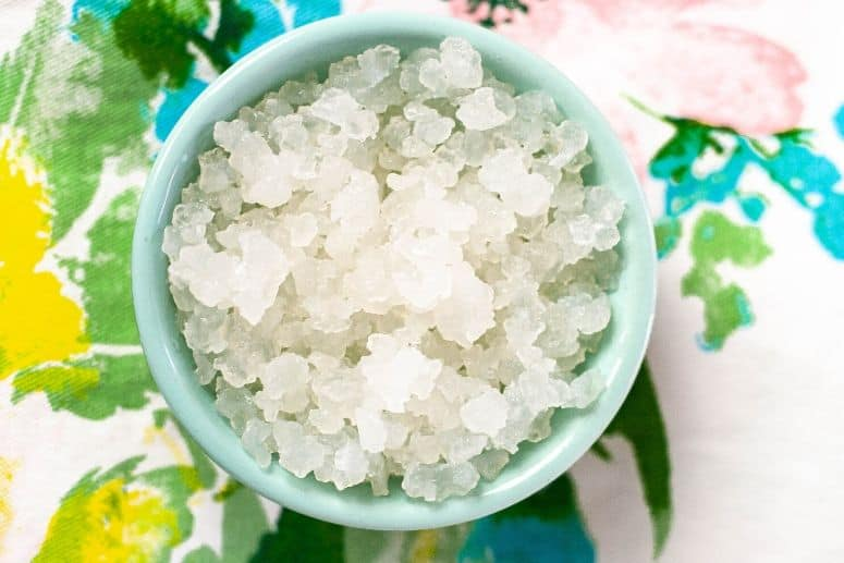 Water kefir grains