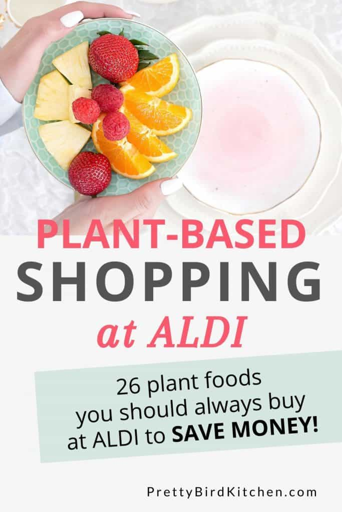 plant-based shopping at Aldi